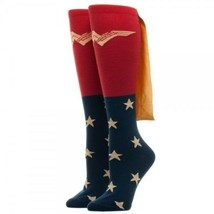 Wonder Woman Movie Caped Knee High Socks - Authentic DC Comics Merchandise - $12.44