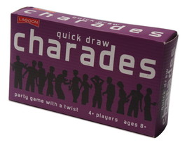 Quick Draw Charades Wacky Party Card Game Novelty Fun Family Friends Kid... - £9.45 GBP