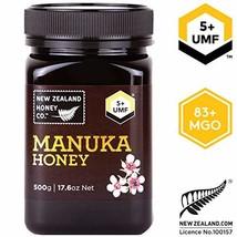 Zealand Honey Co. Raw Manuka Honey UMF 5+   MGO 83+, 17.6oz. / 500g - $38.33
