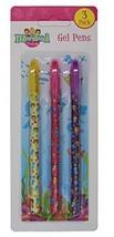 Mermaid Tales Set Of 3 Bright Coloured Gel Pens School Stationery Kids #bjb - $6.29