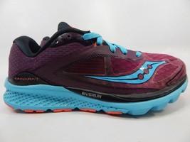Saucony Kinvara 7 Size US 8 M (B) EU 39 Women's Running Shoes Purple S10298-5