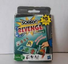 Sorry Revenge Family Card Game 2009 Hasbro 109 Cards - $11.67