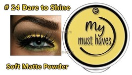 ESSENCE EyeShadow My Must Haves # 24 Dare to Shine Soft Matte Powder - $7.71