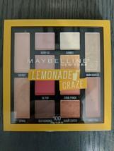 Maybelline New York Lemonade Craze Eyeshadow Palette #100 12 Shadows. - $3.00