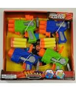 Foam Air Blaster 4 pack Dart Shooter with Darts - $12.19