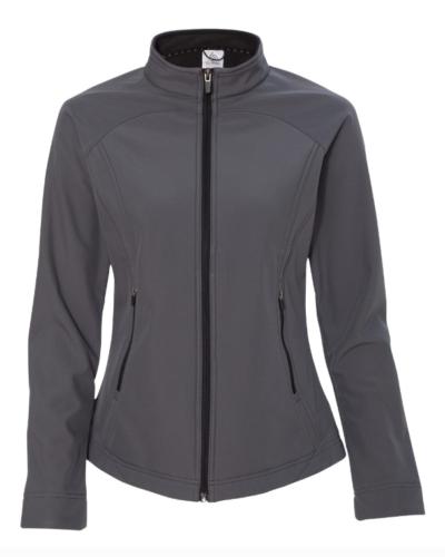 XL 16 Colorado Clothing Women's Antero Mock Softshell Jacket Storm Gray NEW