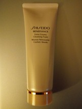 Shiseido Benefiance Extra Creamy Cleansing Foam 2.6 oz./75ml More Than Half Size - $23.68