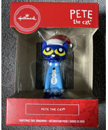 "2020 Hallmark Pete The Cat Blue Christmas Tree Ornament NEW 3"" - $17.81"