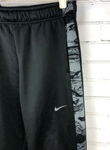 NIKE Therma-Fit Print Pants Fleece-Lined Black Boy's Size XL 14/16 - $24.12