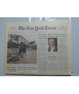 The New York Times 1999 December 11 Giuliani Turkey Nuclear Engineer Gro... - $39.99