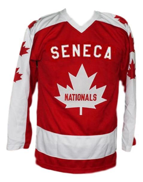 Wayne gretzky seneca nationals junior hockey jersey red   1