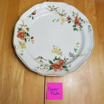 Mikasa Capistrano Heritage Dinner Plate 10 7/8 Inch Purple Rust Yellow F... - $9.89