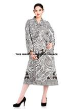 Indian Hamsa Fatima Cotton Womens Nightwear Kimono Dressing Gown Bath Ro... - ₨1,521.84 INR