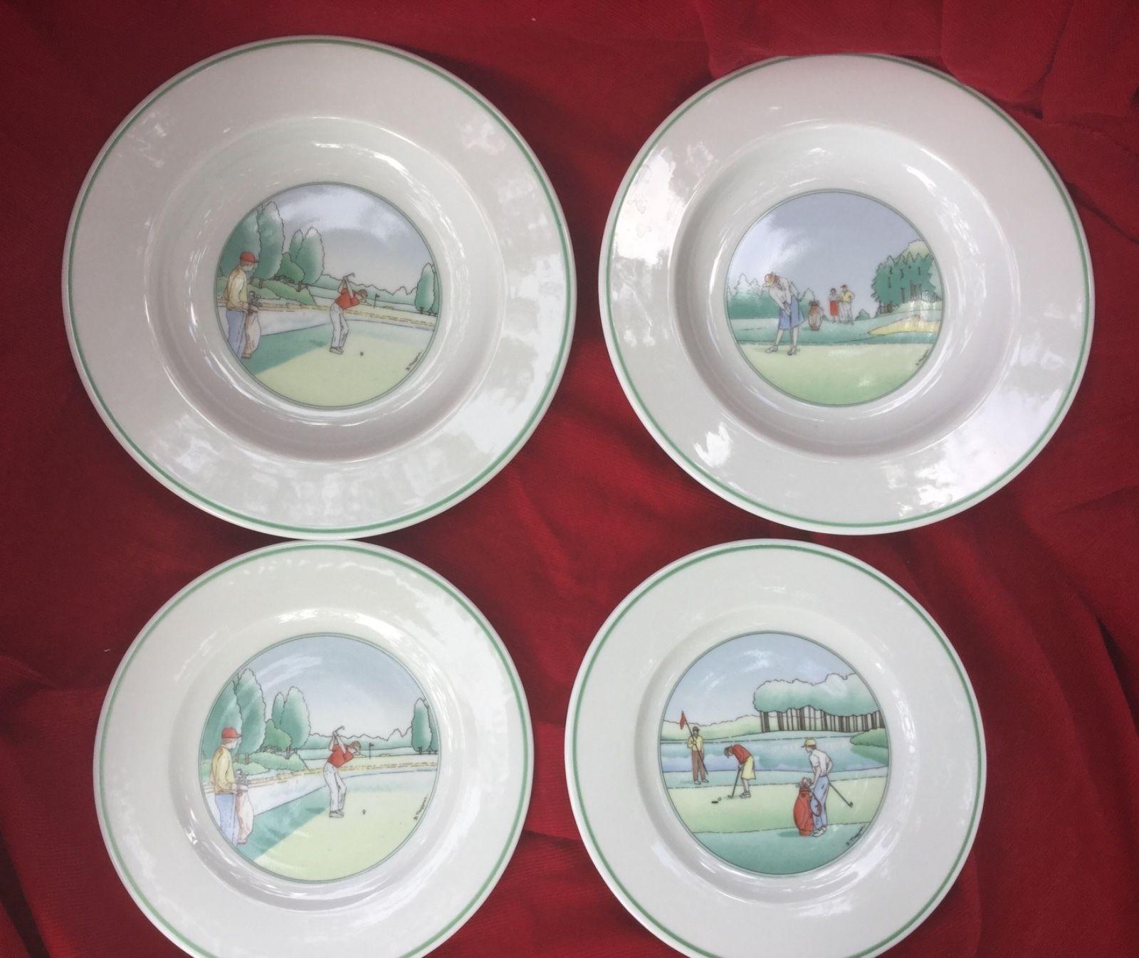 Apilco France Plates Set of 4 Decor and 50 similar items