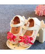 New Baby Girls Christening Shoes in White, Pink,Blue,Red  3 6 9 12 15 18... - $14.84
