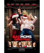 Bad Moms Christmas - original DS movie poster - 27x40 D/S Advance - $24.00