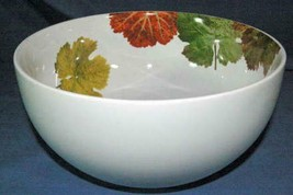 "Studio Nova 2006 Leaf Harmony Y0737 Salad Serving Bowl 9 1/2"" - $9.69"