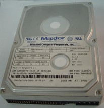 Maxtor 82559A4 2.5GB 3.5in IDE Drive 3 in stock Tested Good Free USA Shipping