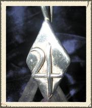Jupiter Planetary Silver Pendant Necklace, Alchemy Tin Astrology Norse W... - $124.99