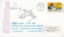 SOYUZ 6 USSR LAUNCH COLORADO SPRINGS CO OCTOBER 11 1969 #41/46 RE NICHOL - $2.68