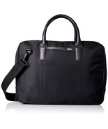 """Cole Haan 15"""" 15 inch Black Nylon Laptop Briefcase Messenger Bag NWT NEW - $189.99"""