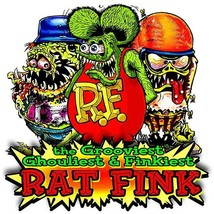 Rat Fink The Grooviest, Ghouliest, Finkiest Rat, Big Daddy Ed Roth Metal... - $34.95