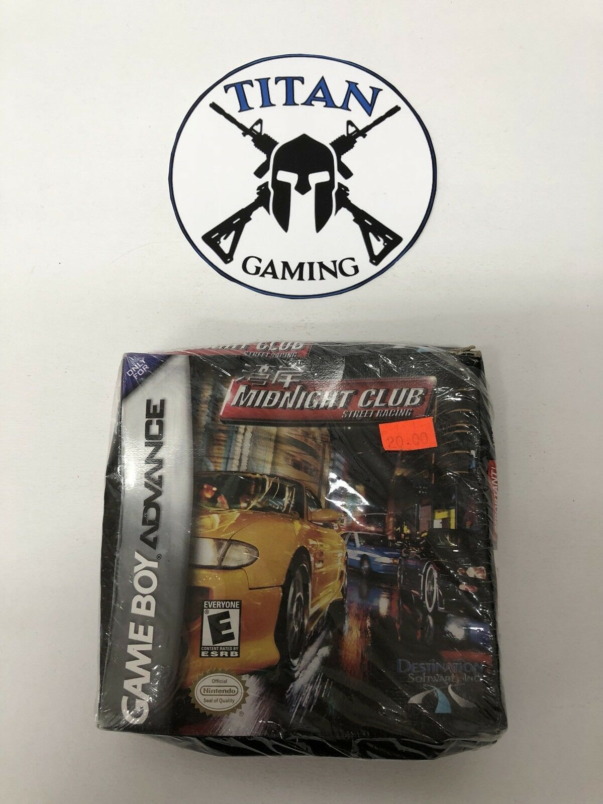 Midnight Club: Street Racing (Nintendo Game Boy Advance, 2001)