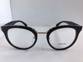 New PRADA VPR 0U3 1AB-1O1 51mm Black Women's Eyeglasses Frame No case  - $189.99