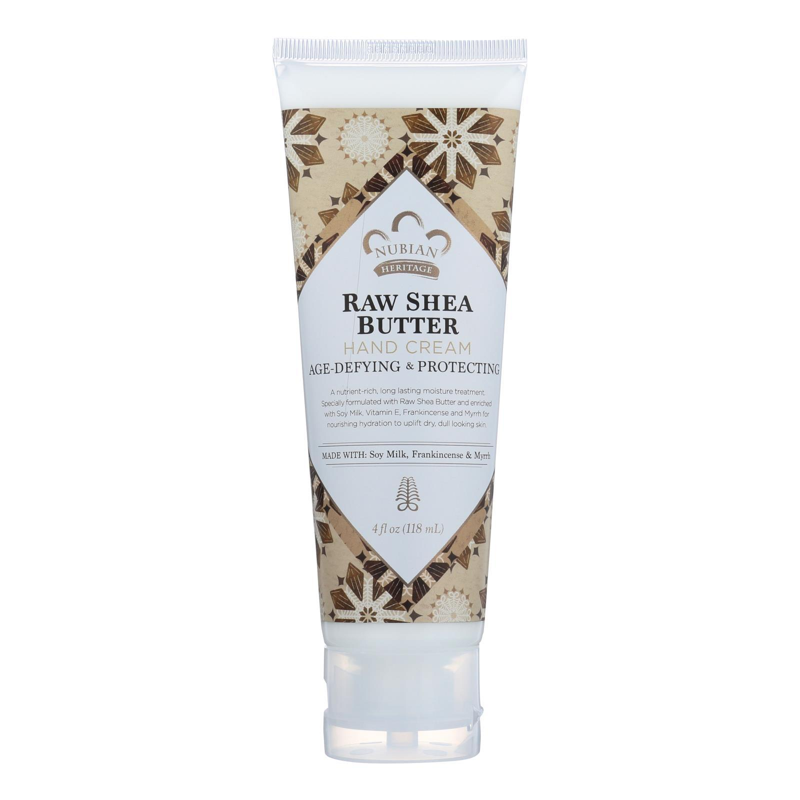 Nubian Heritage Hand Cream - Raw Shea with Frankincense - 4 oz - $9.99