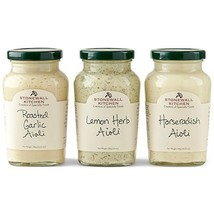 Stonewall Kitchen Aioli Collection (3 pc) - $29.32