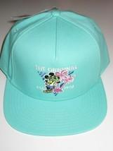 Vans x Disney Mickey Mouse 90th Birthday Baseball Cap Teal Green Adjusta... - $22.17
