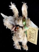 "Mohair Artist Angel Bunny Rabbit ""Flutter"" #10 Angels In The Eaves Pat T... - $46.71"