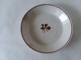 Alfred Meakin Royal Ironstone Copper TEA LEAF England 5 1/2 Saucer for F... - $5.93