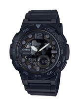 Casio Men's 'Classic' Quartz Stainless Steel and Resin Casual Watch, Col... - $39.84