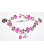Pretty Pink  Authentic Jared Pandora Bracelet - $125.00