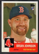 2016 Topps Archives Brian Johnson RC #56 Boston Red Sox - $1.35