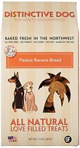 Dog Treat, Peanut Banana Bread Training Grain Free Natural Dog Treats Or... - $18.99