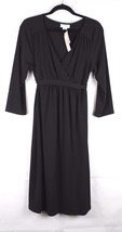 Motherhood maternity dress polyester stretch career black size XL - $17.79
