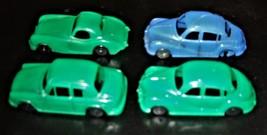 Toy Cars - Vintage 1950's Four (4) Plastic Cars - $4.95