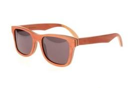 New Premium Wooden Polarized Walnut Dogwood Sunglasses 55mm with Grey Le... - $39.55