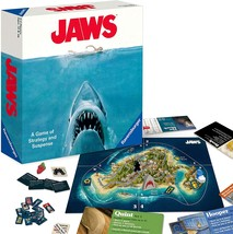 Ravensburger Jaws Board Game for Age 12 and Up - A Game of Strategy and Suspense - $28.99