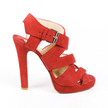 Christian Louboutin Suede Strappy Sandals SZ 37.5 - $305.00