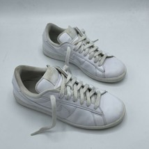 Women's Size 9 Nike Tennis Classic White Leather Shoes MSRP $80 312498-129 - $38.60
