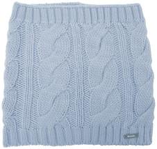 Bench Light Blue Levigny B Cable Knit Snood Neck Gaiter Scarf Wrap BLVA0... - $22.44