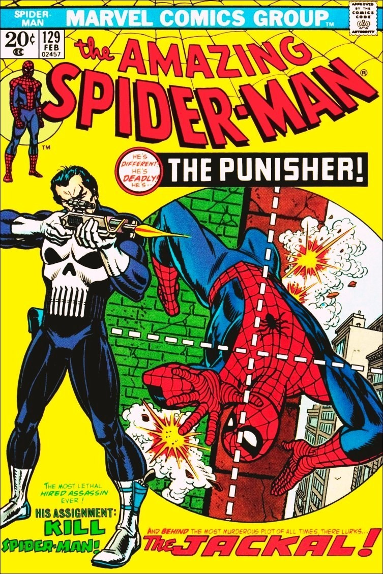 Comic   spiderman   the punisher