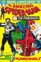Marvel Comics Spiderman No.129 THE PUNISHER Reproduction Cover Stand-Up ... - $15.99