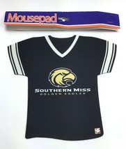 Southern Miss Golden Eagles NCAA / Neoprene Jersey Shaped Computer Mouse... - $14.99