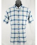 $79 Patagonia Organic Cotton A/C Short Sleeve Button Shirt Mens Sz S Cub... - $47.51
