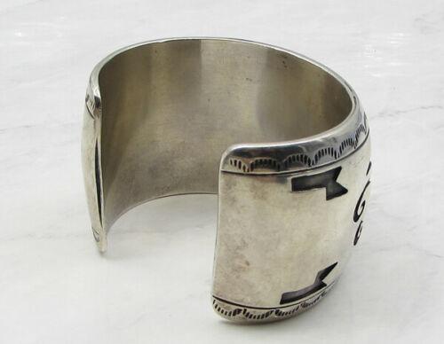 925 Sterling Silver - Industrial Woven Design 44.5mm Heavy Cuff Bracelet B1025 image 3