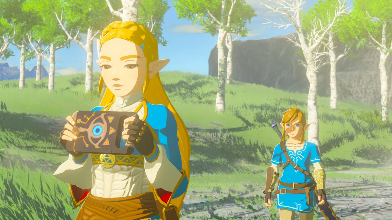 Legend of Zelda: Breath of the Wild (Nintendo Switch, 2017) BRAND NEW SEALED image 3